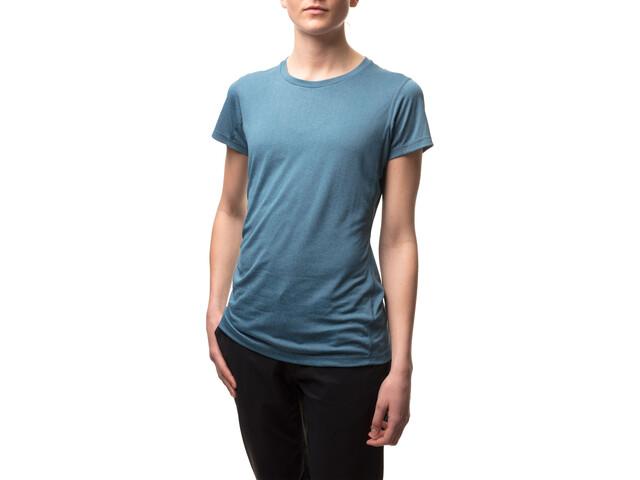 Houdini Dynamic T-shirt Dames, tumbeling blue